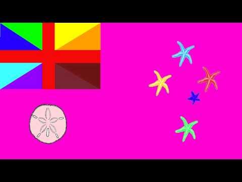 Bandera e Himno de Islas del Mar del Coral (Australia) - Flag and Anthem of Coral Sea Island