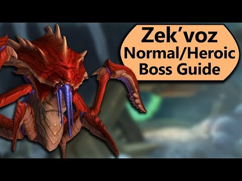 Zek'voz Guide - Normal and Heroic Zek'voz, Herald of N'thoth Uldir Boss Guide