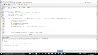 Volunteer App in Java