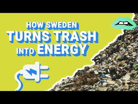 Sweden Actually Turns It's Garbage Into Energy | Save The World