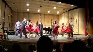 Stadium High School Ars Nova-Boogie Woogie Bugle Boy 3/24/2011