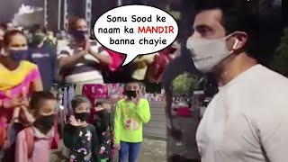 EMOTIONAL Migrant Workers Thank Sonu Sood As He Sees Them Off At Railway Station ❤️