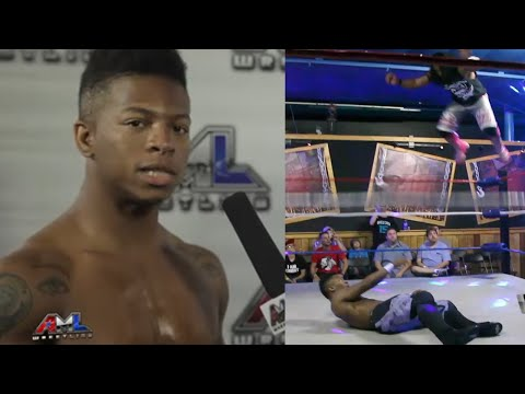 AML Wrestling TV #25: Lio Rush vs Lance Anoa