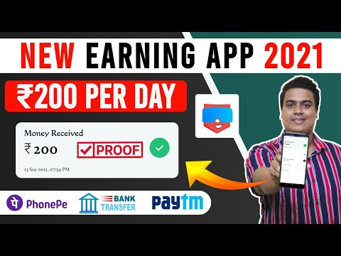 New Earning App Today | Earn Money Online | Earn Daily Free Paytm Cash Without Investment |