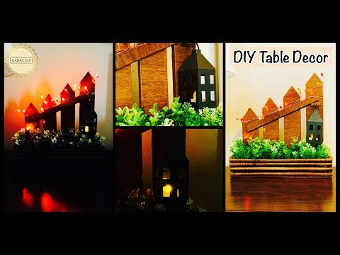 DIY Unique Home Decor| Table Decor DIY| gadac diy| diy crafts| craft ideas for home decor| handmade