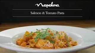 Salmon and Tomato Pasta