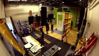 Building A Set In 4 Hours (timelapse) - Uc Irvine