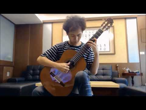 J. S. Bach: Prelude, Fugue,  Allegro BWV 998 Chiawei Lin, Guitar