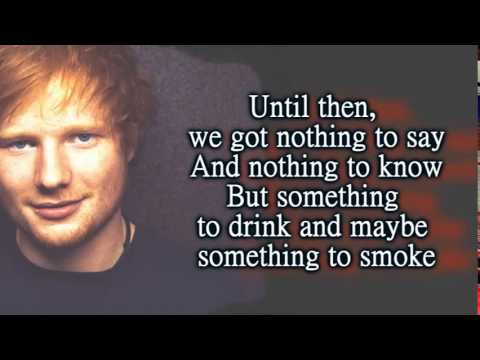 Ed Sheeran Sing Official Letra