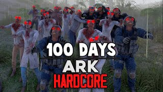 I Spent 100 Days in a Zombie Apocalypse in ARK and Here's What Happened