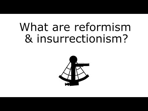 What are Reformism & Insurrectionism