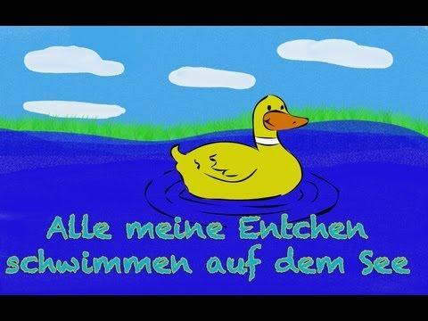 🎵 Alle meine Entchen - Kinderlieder deutsch   Kinderlieder zum Mitsingen - muenchenmedia