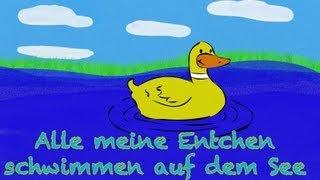 🎵 Alle meine Entchen - Kinderlieder deutsch | Kinderlieder zum Mitsingen - muenchenmedia thumbnail
