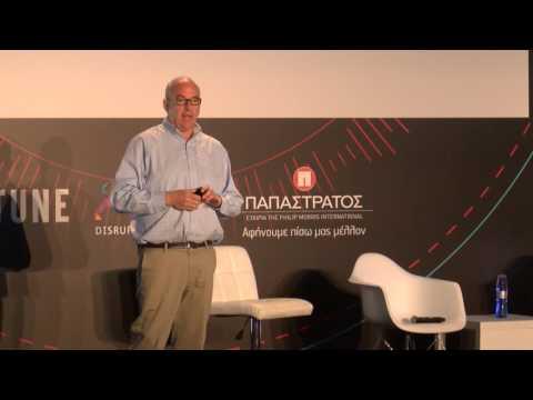 Jeff Hoffman Partner | KeyNote Speech - Disrupt Greece