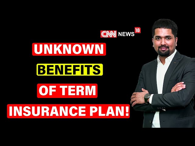What is Term Insurance - Unknown Benefits of Term Insurance Plan   Money Doctor Show - C S Sudheer