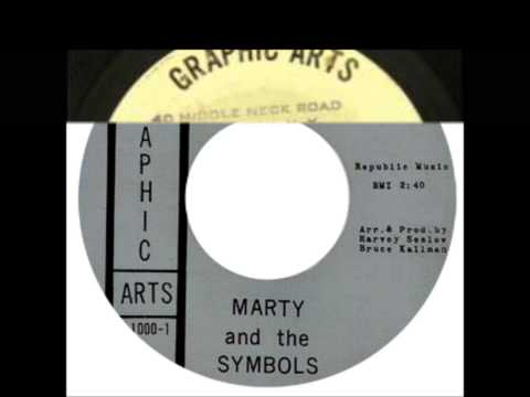 Marty & the Symbols - You're the One / Rip Van Winkle (Mr Bassman & The Symbols) - Graphic Arts 1000