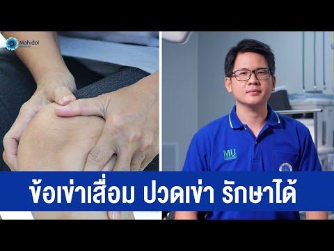 โรคข้อเข่าเสื่อม ปวดเข่า รักษาได้   พบหมอมหิดล [by Mahidol Channel]