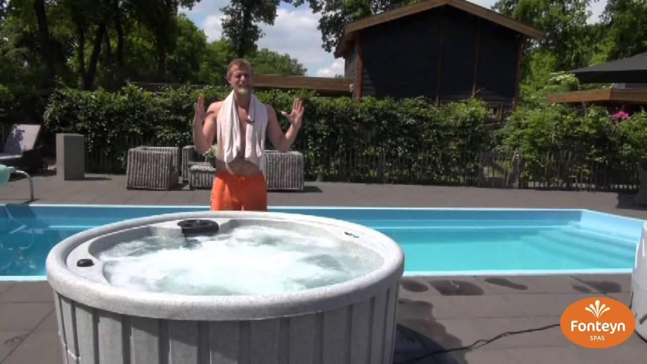 outdoor whirlpool spa dream eclipse grey youtube. Black Bedroom Furniture Sets. Home Design Ideas