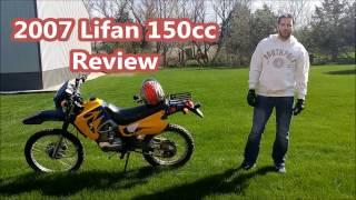 2007 Lifan 150cc Enduro/Lifan LF150GY-3A Enduro - Full Throttle Review