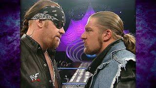 Triple H Is Standing In The Undertaker's Yard! 3/8/01