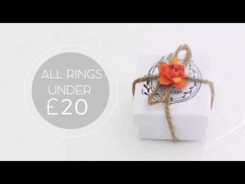 9e4448ec3 Sterling Silver Rings from The Woodland Gift Company - YouTube
