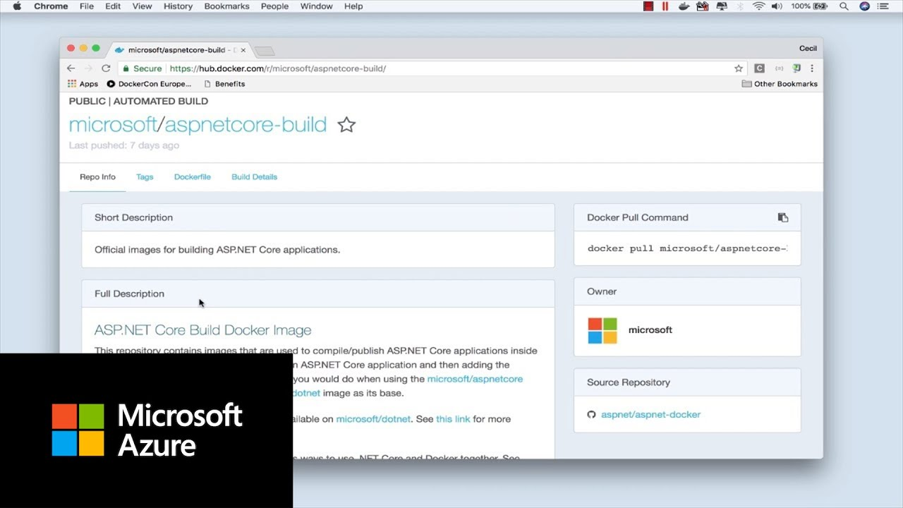 How to run an app inside a container image with Docker | Azure Tips and  Tricks
