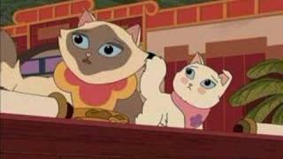 Sagwa The Chinese Siamese Cat- How Sagwa Got Her Colors HD 1