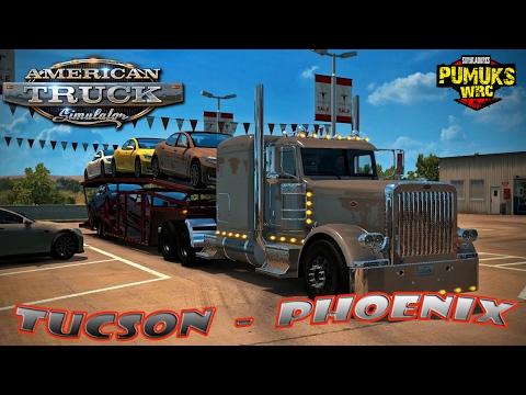 American Truck De Tucson a Phoenix con Wirtgen W2100
