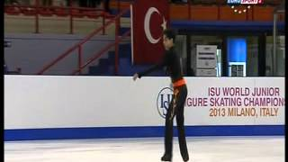 Michael Christian Martinez - 2013 World Junior Championships - LP