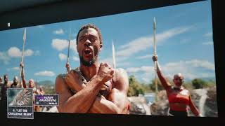 "BLACK PANTHER 4K UHD Bluray : BenQ 4K HDR Projector 155"" Inch HDR Analysis"
