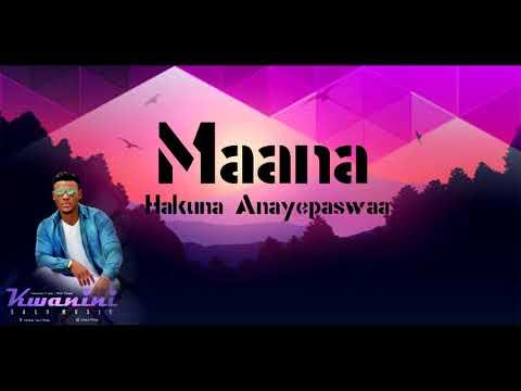 Kwanini Salo Music Official Lyrics Video