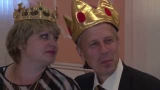 Сказочный выкуп невесты на банкете