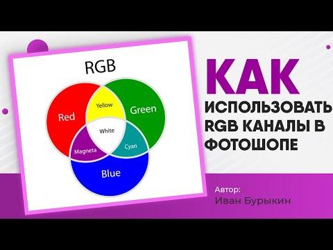 Уроки по фотошопу / Как использовать альфа каналы в фотошопе и что такое Rgb каналы в фотошопе?