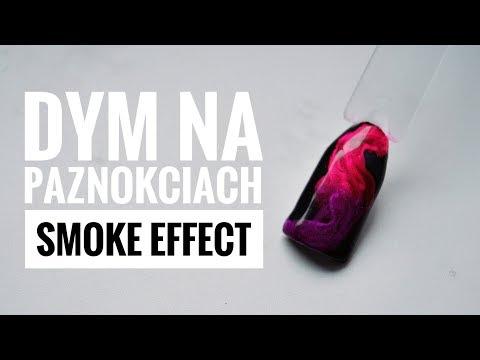 efekt dymu � smoky effect � dym na paznokciach aka videos