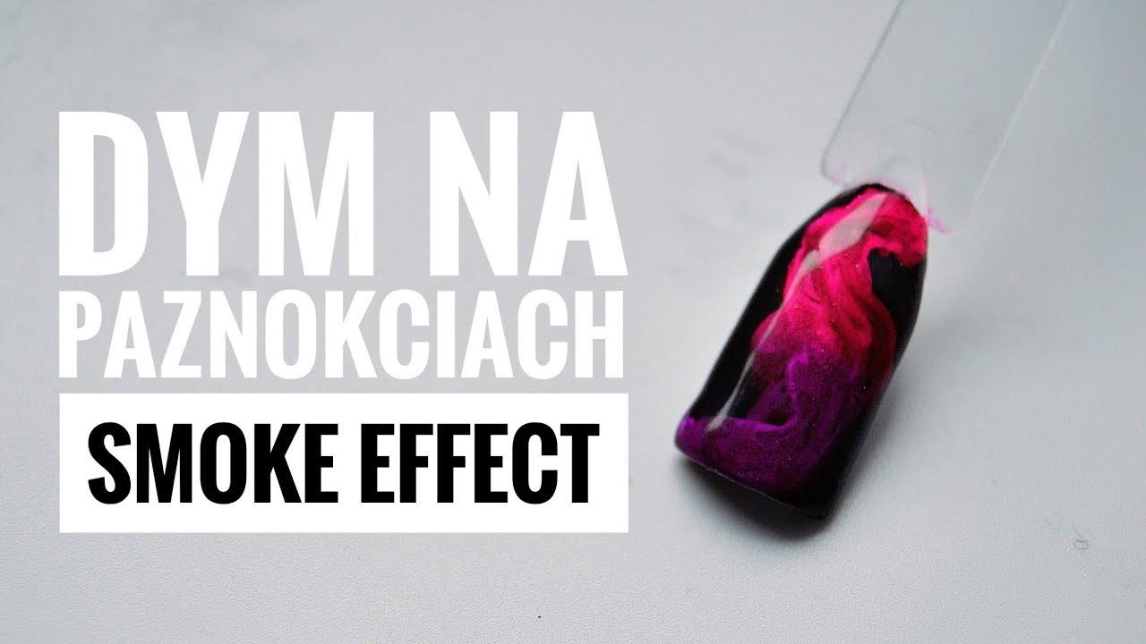 Efekt Dymu Smoky Effect Dym Na Paznokciach Youtube