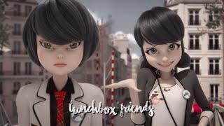 Marinette & Kagami   Lunchbox Friends