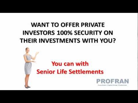 Ken Hollowell with Life Policy Assets Explain the Program | Profran Capital Group