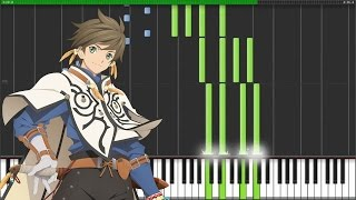 "[Tales of Zestiria the X Season 2 ED] ""INNOSENSE"" - FLOW (Synthesia Piano Tutorial - ピアノ)"