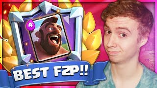 #1 F2P Deck For LADDER PUSHING?? NEW META Deck! | RTC Ep. 40 | Clash Royale