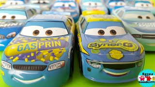 Cars 3 diecast GasPRIN Floyd Mulvihill #70 Review|cars 3 SynerG Lane Locke #5