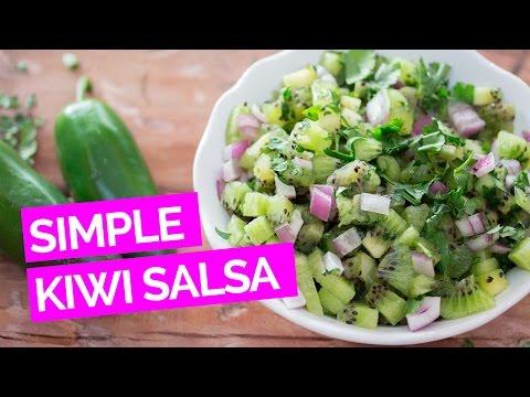 Simple Kiwifruit Salsa Recipe