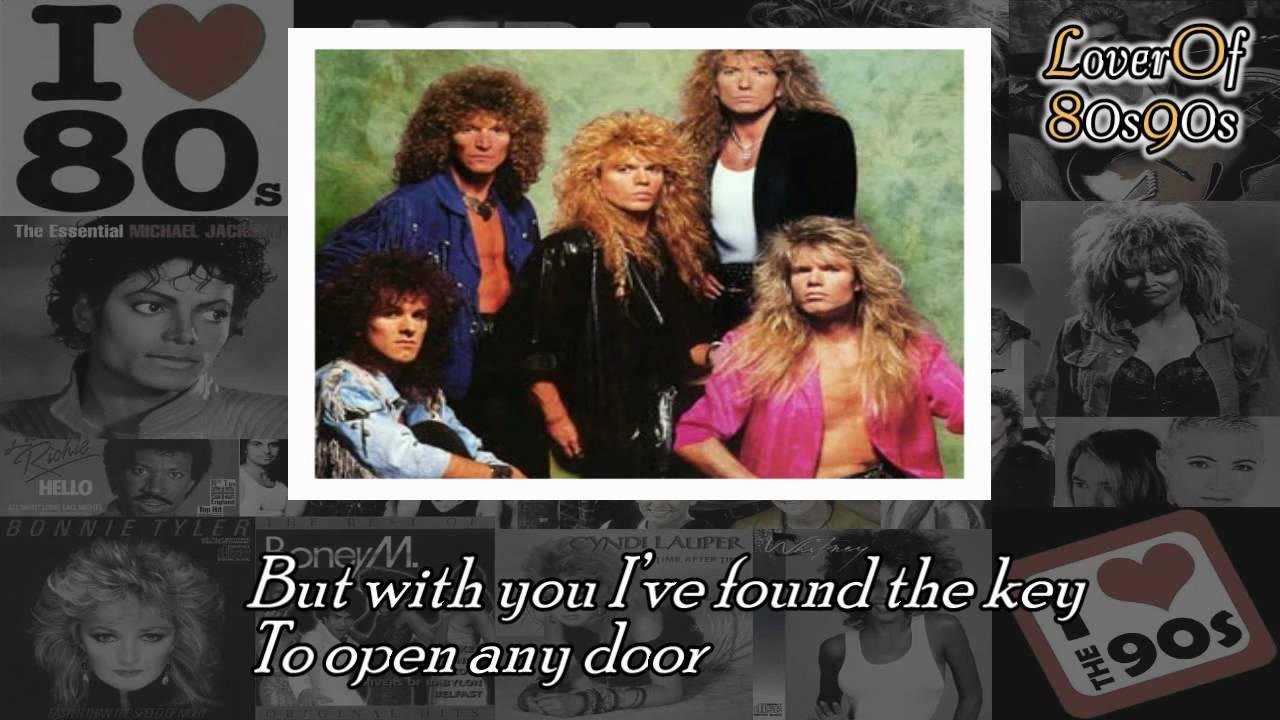 Is this love - Whitesnake (HQ) with Lyrics