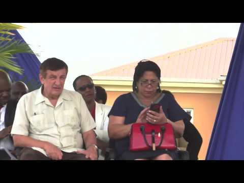 Opening of Modern Medical and Diagnostic Centre, Georgetown, Saint Vincent and the Grenadines, 2018
