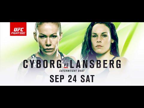 UFC Fight Night 95 Brasilia Cyborg v Lansberg Predictions