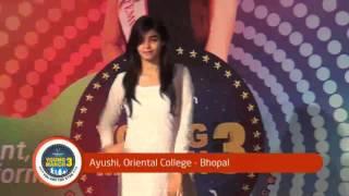 videocon telecom young manch 3 oriental college bhopal winner ayushi fov