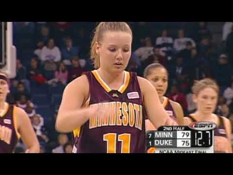 Lindsay Whalen Highlights- 2004 Elite 8