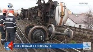 Stirile Kanal D (18.03.2018) - Tren deraiat la Constanta! Editie COMPLETA