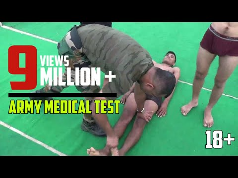 Indian Army Medical Test in Hindi Full Video Live Army Rally Bharti Ground News 2019 Information