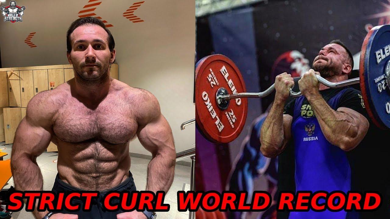 The Strict Curl Monster Nizami Tagiev - 110kg STRICT CURL