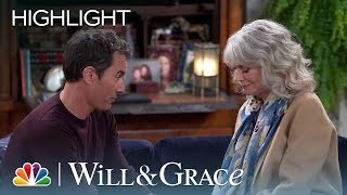Will's Mom Delivers Bad News - Will & Grace (Episode Highlight)